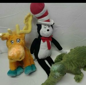 Other - Dr.Seuss Collection 3 plushes